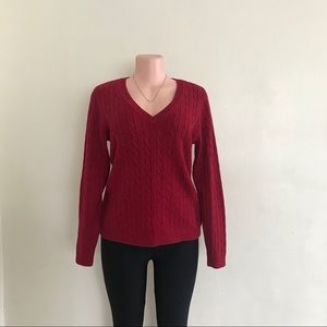 Eddie Bauer pullover long sleeve sweater size M